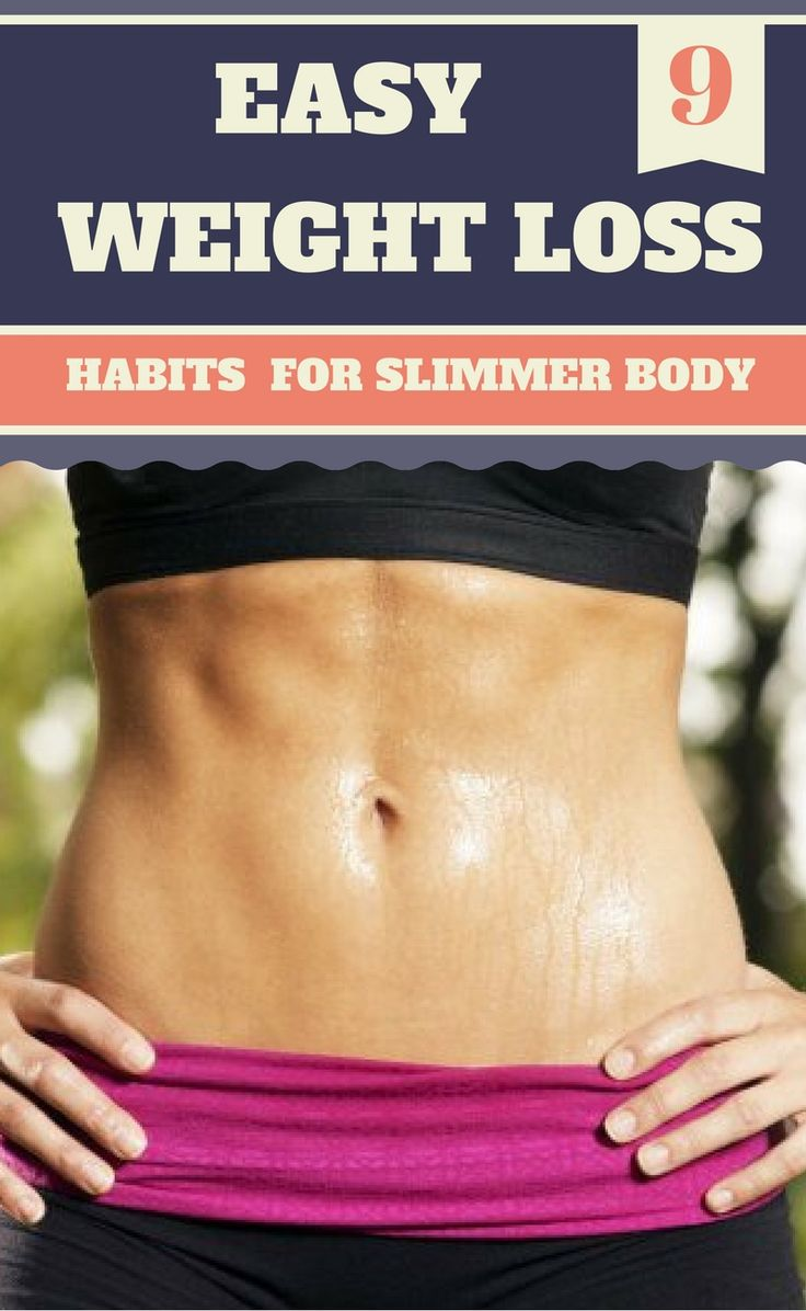 9 Easy Weight Loss Habits So You Wake Up Slimmer