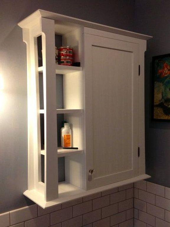 30 Small Wall Cabinet Storage Design For Bathroom Bathroom