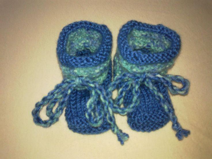 modré bačkůrky