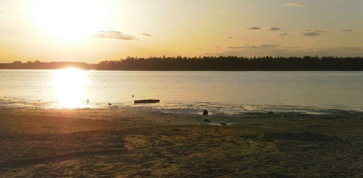Finnish #sunset   Helsinki