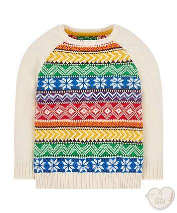 Little Bird by Jools knitted jumper