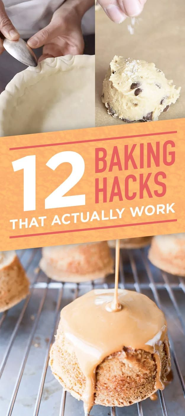 12 baking hacks that we know are actually legit | cool foods