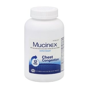Mucinex Extended-Release Bi-Layer Tablets, 500 Count $166.22
