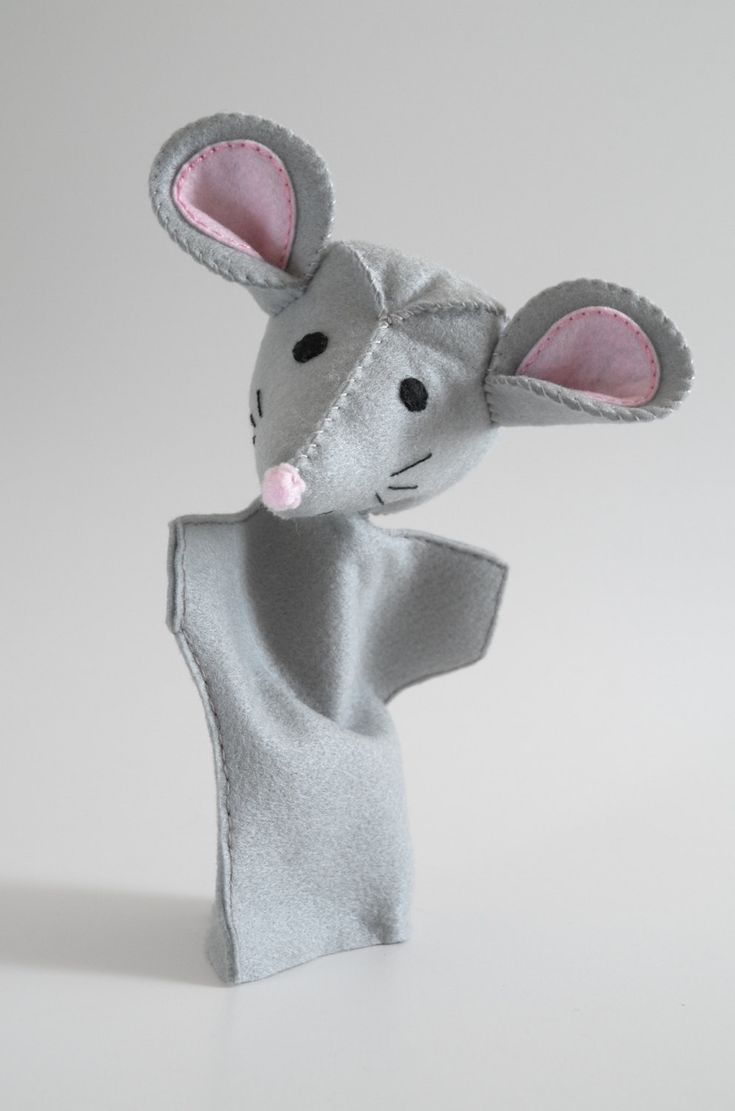 MEGÍRNI Mouse puppet - puppets for children, ... - by KinkinPuppets on Etsy
