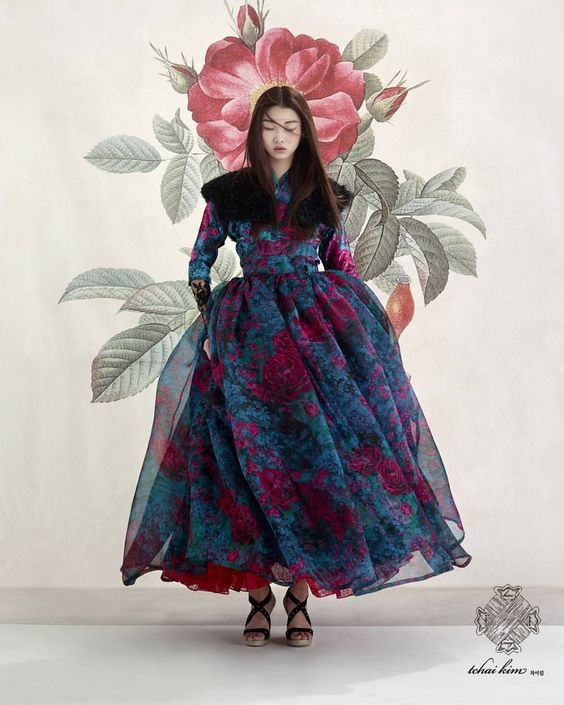 담아간 이미지 flower fashion photography background dress korean shooting editorial beautiful