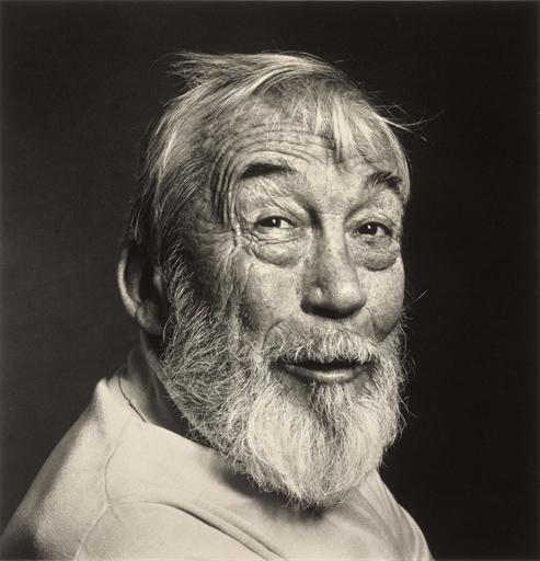 John Huston, by Irving Penn, New York, Feb. 7, 1980 http://www.mutualart.com/Artwork/John-Huston--New-York--Feb--7--1980/714BA45D7E24B1CE