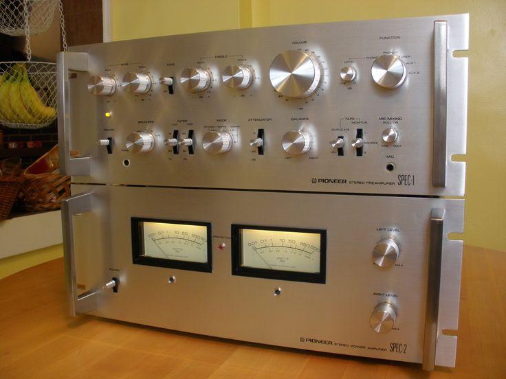 Pioneer Spec 1 Amp 2 Preamp Amp Amp Vintage Pioneer Stereo