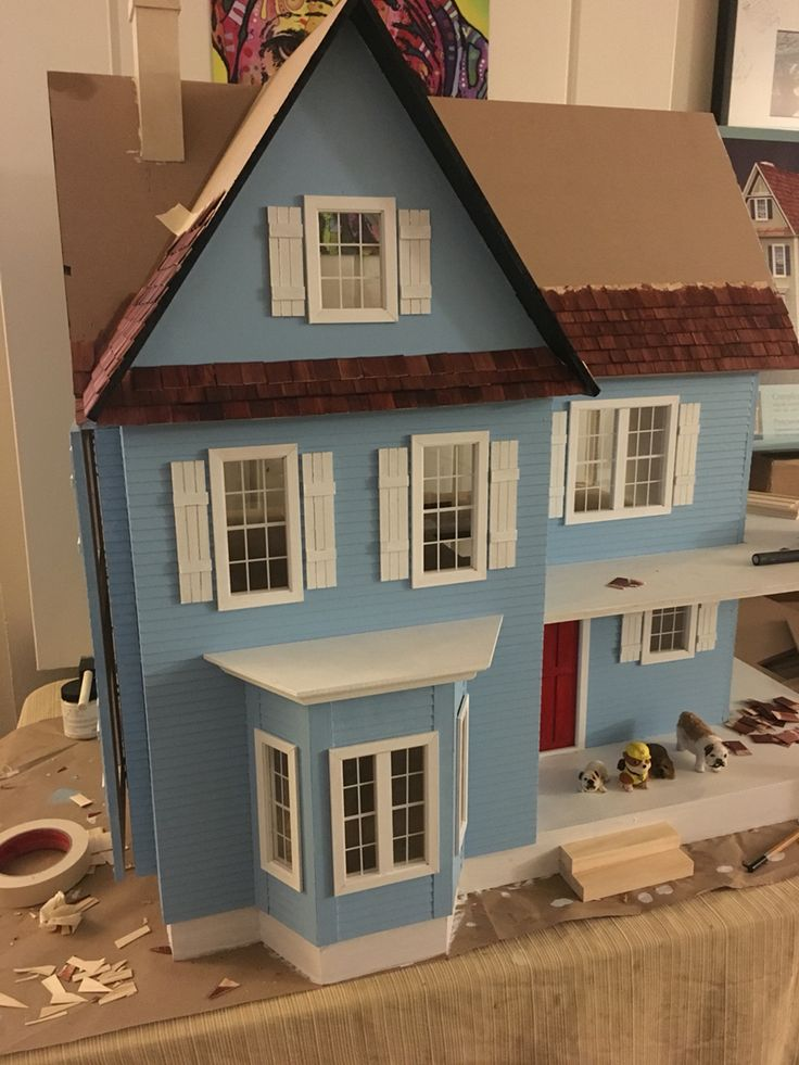 49 Best My Victorias Farmhouse Dollhouse Build And