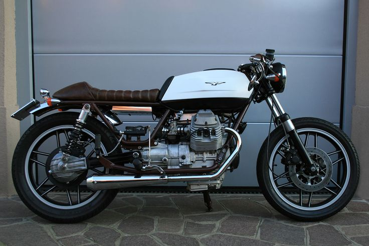 moto guzzi v35 cafe racer