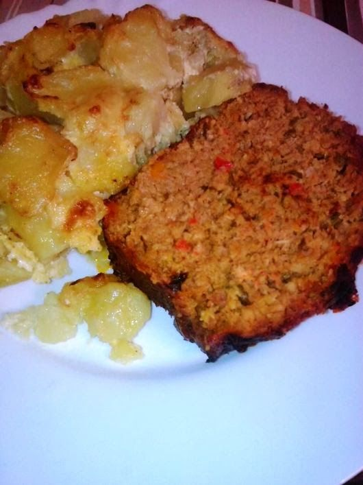 H μάνα του ... λόχου: Ρολό κιμά με πατάτες γκρατινέ