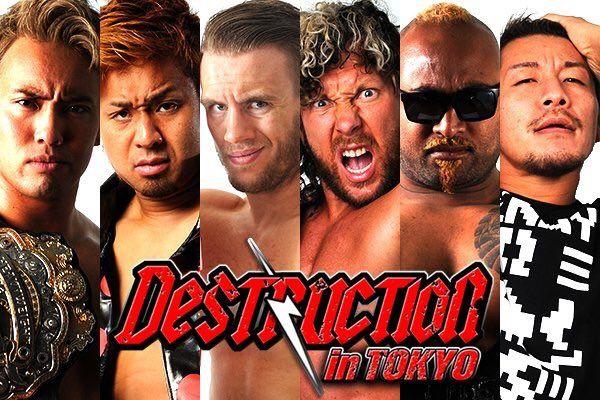 Kazuchika Okada, Yoshi-Hashi, and Will Ospreay vs. Kenny Omega, Bad Luck Fale, and Yujiro Takahashi
