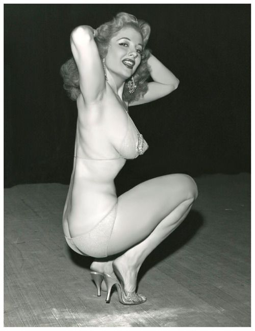Bettie page and tempest storm 1950s vintage - 3 part 2
