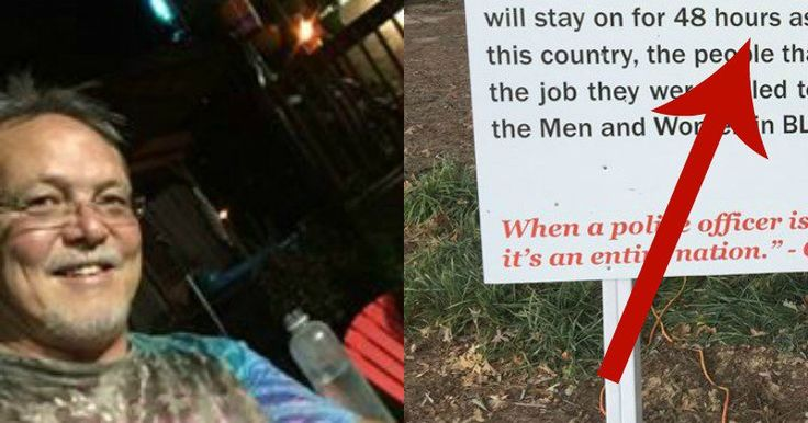 People Shocked By Fed Up Man's HUGE Yard Sign When They See What's On Top