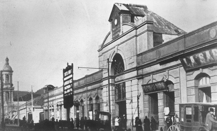 Antiguo mercado de Concepcion , antes de 1939