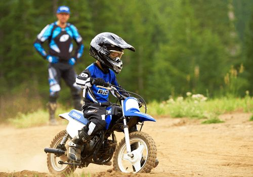 Toddler Dirt-bike - Yamaha 2013 PW50 (2-Stroke) exactly what Bentley is getting!!!