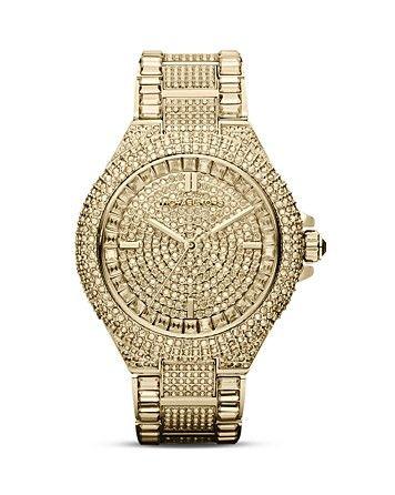 Michael Kors Camille Watch, 44mm | Bloomingdale's (Bling!)