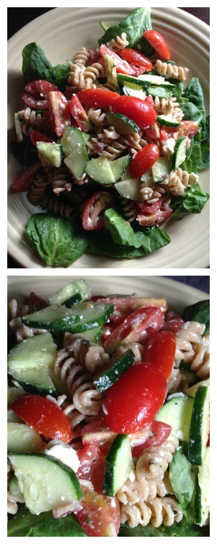 Delicious greek pasta salad recipe