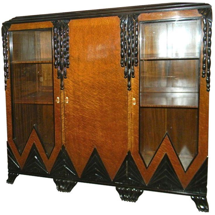 Spectacular Unique One of KInd  (Modernist) Art Deco Cabinet