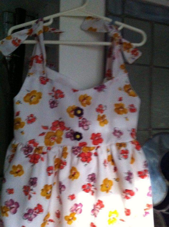 Dress I made for my Grand daughter Cierra