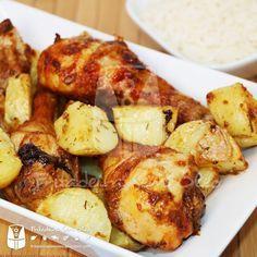 Frango com Batatas na AirFryer | Fritadeira sem Óleo - AirFryer