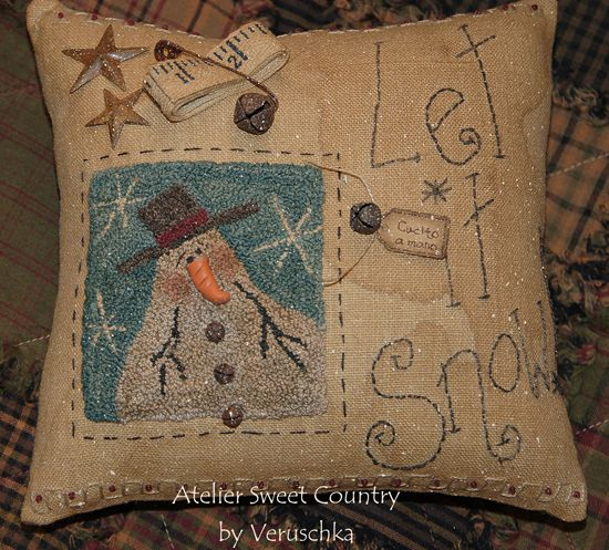 Atelier Sweet Country: Punchneedle . . .