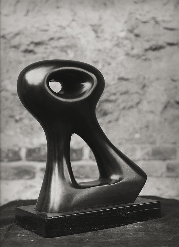 Agustin Cárdenas Bouba, 1974 bronzo, cm 65hx47x15