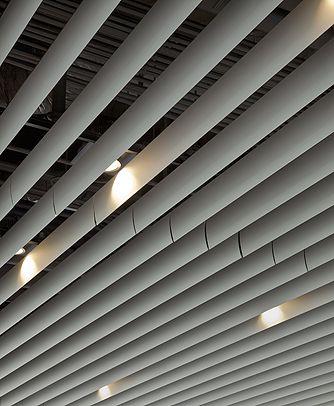 Hunter Douglas Baffle Ceiling Project Ideas Baffle