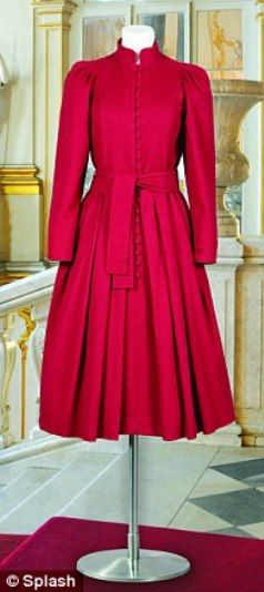 A dress first worn by Princess Diana in 1983