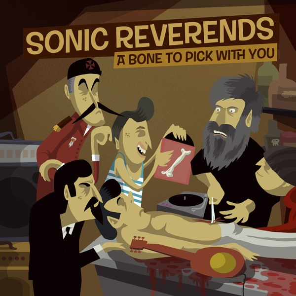 Sonic Reverends CD cover