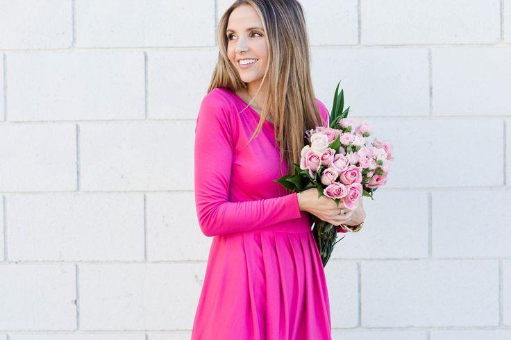 Merrick's Art Pink Valentine's Day Dress