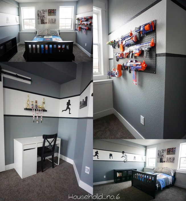 17 Best Ideas About Boys Bedroom Furniture On Pinterest: 17 Best Ideas About Football Theme Bedroom On Pinterest