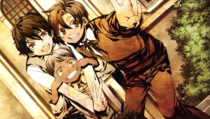 Luca, Pace and Debito...so cute