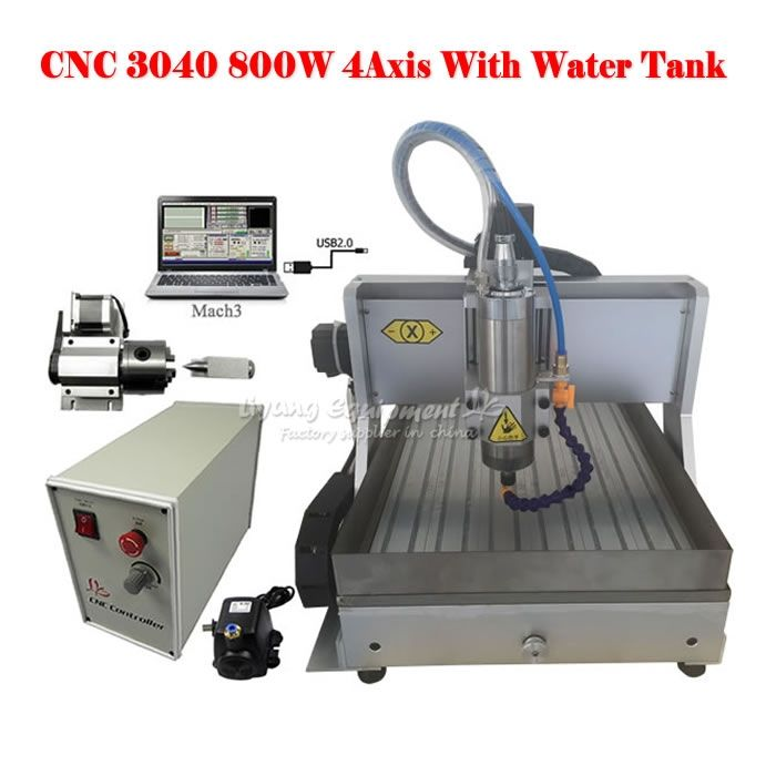 1538.10$  Buy here - http://ai2t2.worlditems.win/all/product.php?id=32767900336 - New 3D cnc router LY CNC 3040 USB Port engrave machine for large area water tank cnc engraving machine to EU no tax