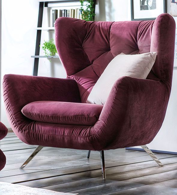 Candy Polstermobel Innovativ Modern Sessel Im Angesagten Retro Look Entdecke Weitere Faszinierende Sofas Von Candy In 2020 Modern Armchair Retro Sofa Armchair