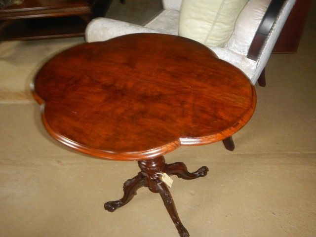 Victorian Flamed Mahogany ntea table R2990