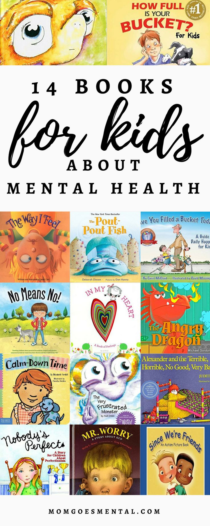 14 Books for Kids About Mental Health posted by TIFFANY BARRY ....books really help us incorporate conversations about mental health into our everyday routine. We read about it together, conversations and questions often follow, and my kids continue to revisit these stories.