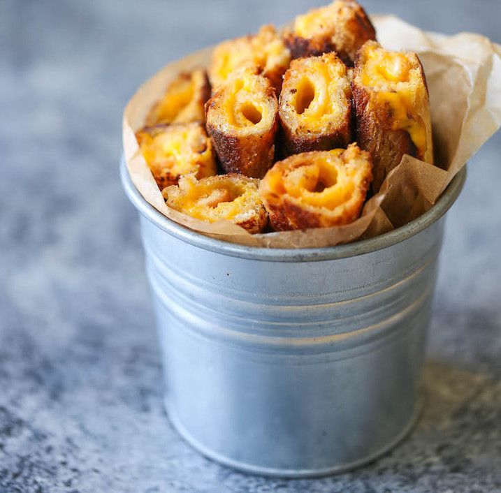 Rouleaux de Grilled Cheese