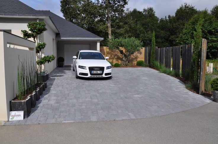 43 best Garage images on Pinterest Garage ideas, Garage - Dalle Pour Parking Exterieur