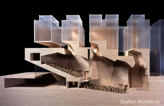 By Grafton Architects  Refreshing to see a building perform in a particular manner and still look amazing...it's possible.: