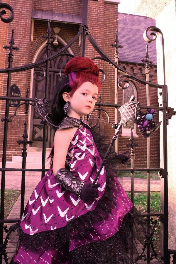 Ever After High Raven Queen Thronecoming Cosplay by cimmerianwillow