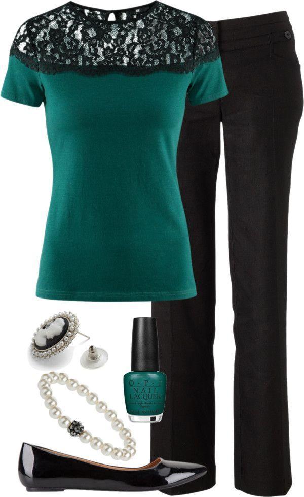 Sólo la blusa para otoño - invierno y las flats. Con skinnies también puede ser.