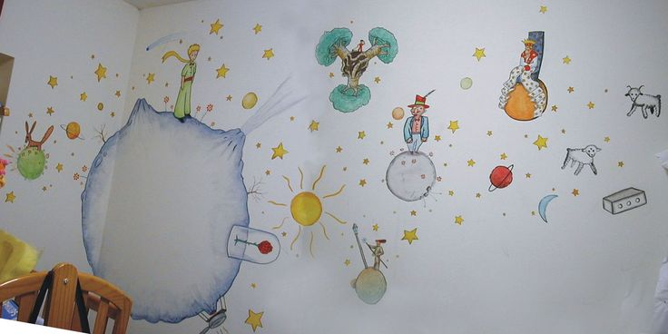 le petit prince by AriKataar- this will be on my child's walls.
