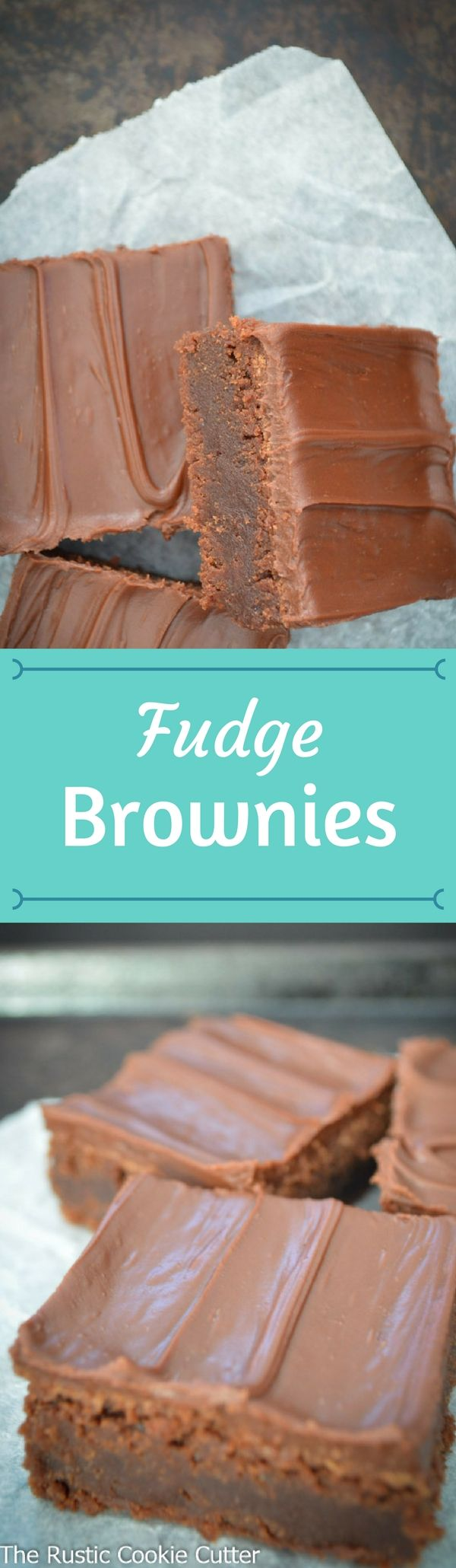 They are the best brownies ever though!  I'm serious!  If you like fudgy, chewy, rich brownies, you have got to try these!  You won't regret it!