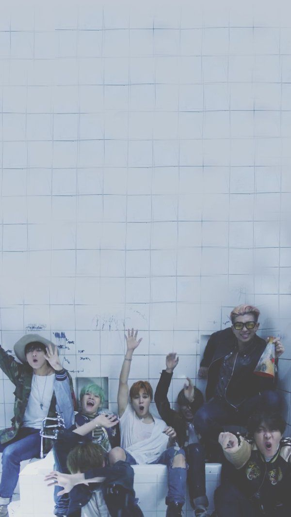 BTS RUN MV lockscreen