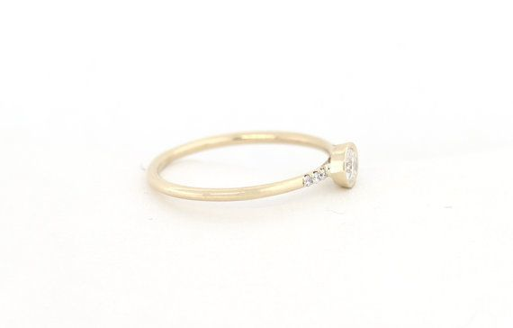 Alrededor de anillo de compromiso diamante por MichaelGabriels
