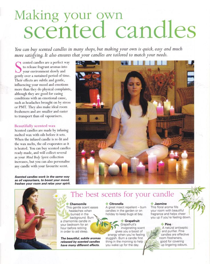 how to make your own candle scents