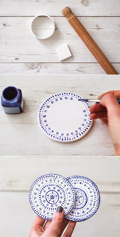 5 Manualidades de cerámica en frío
