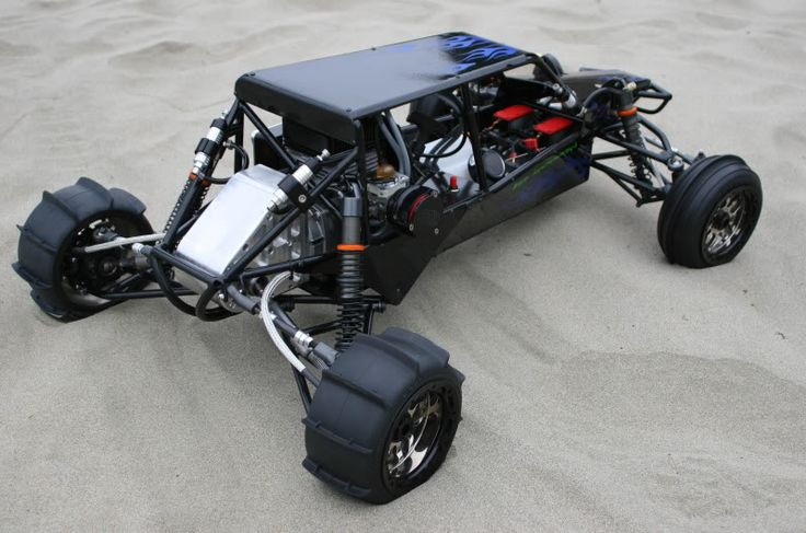 Sand rail blacked out