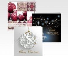 Laat je eigen ontwerp kerstkaarten drukken of kies uit onze collectie zakelijke kerstkaarten. #kerstkaarten