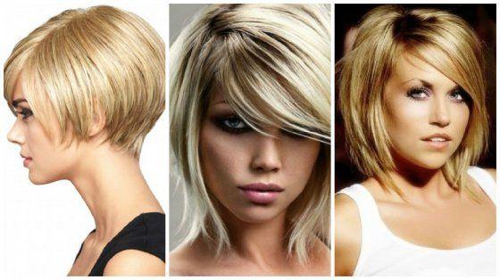 Стильные женские стрижки на средние волосы